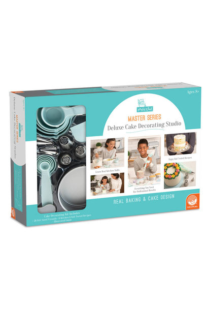 Playful Chef Master Series Deluxe Cake Decorating Studio