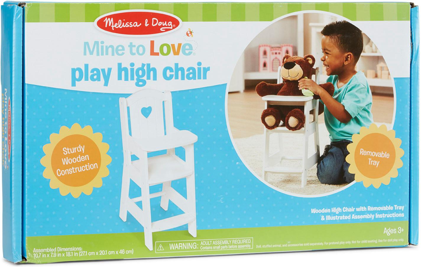 Mine to Love Doll High Chair M&D-2