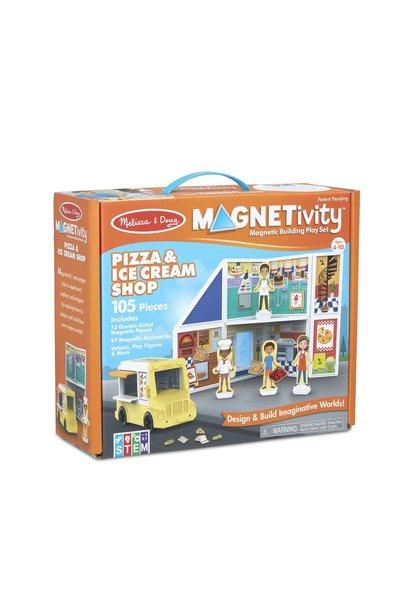 Magnetivity Pizza & Ice Cream Set