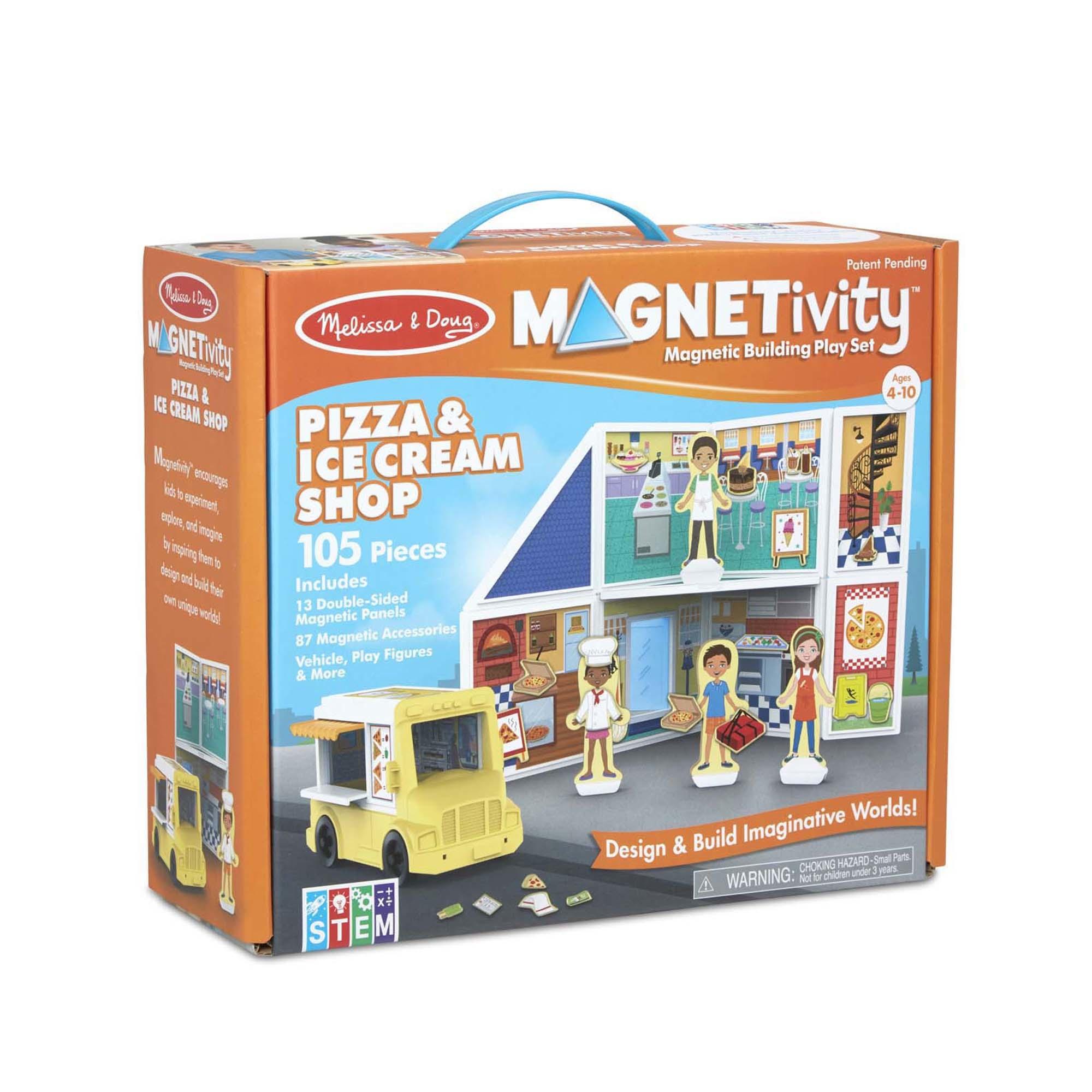 Magnetivity Pizza & Ice Cream Set-1
