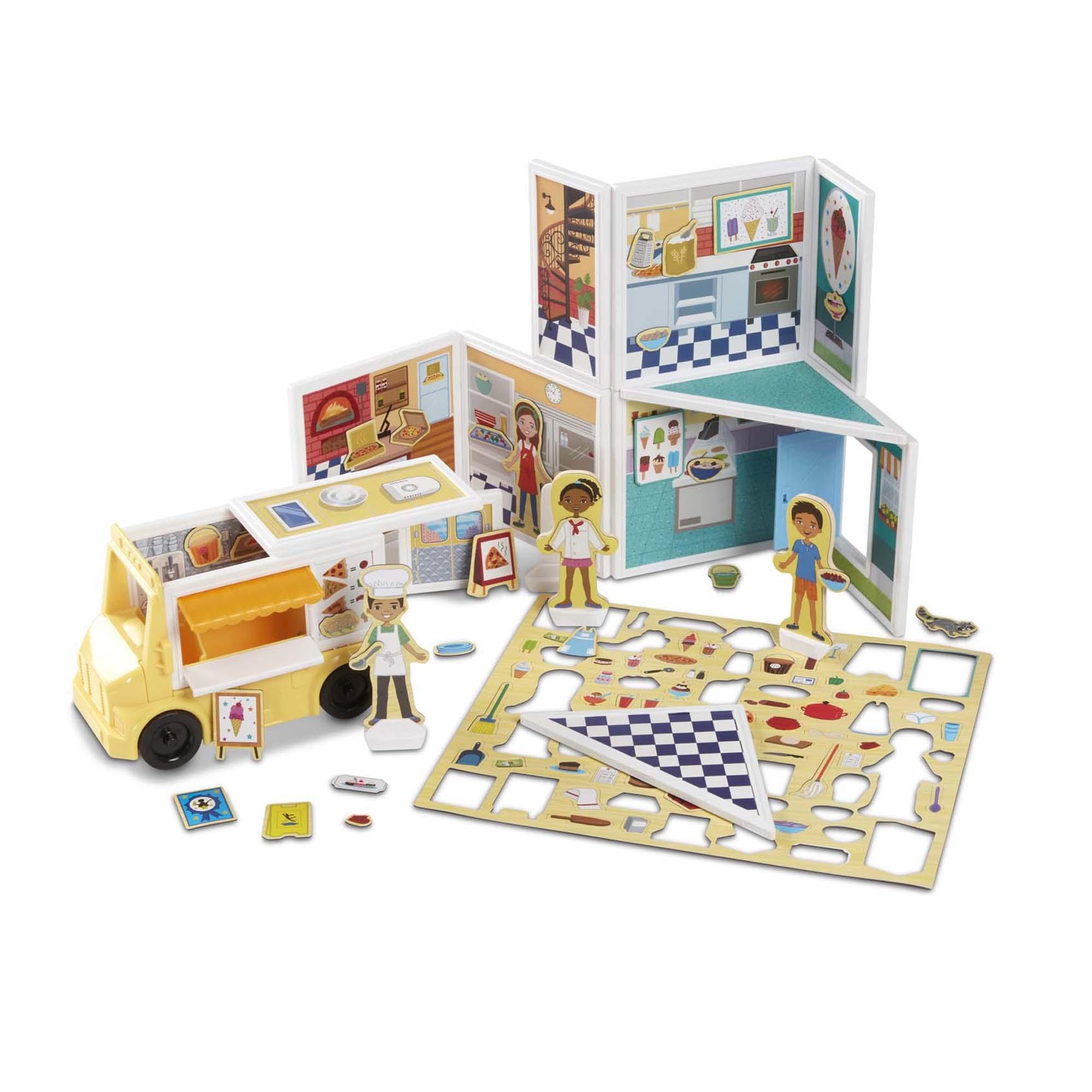 Magnetivity Pizza & Ice Cream Set-2