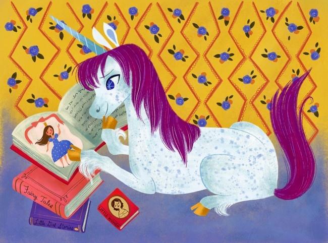 Uni The Unicorn Picture Book-2