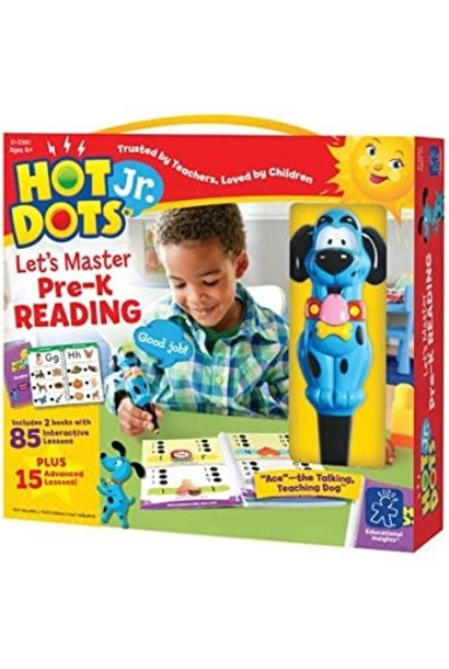Hot Dots Jr.  Let's Master Reading Kindergarten