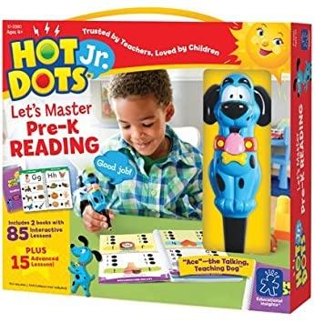 Hot Dots Jr.  Let's Master Reading Kindergarten-1