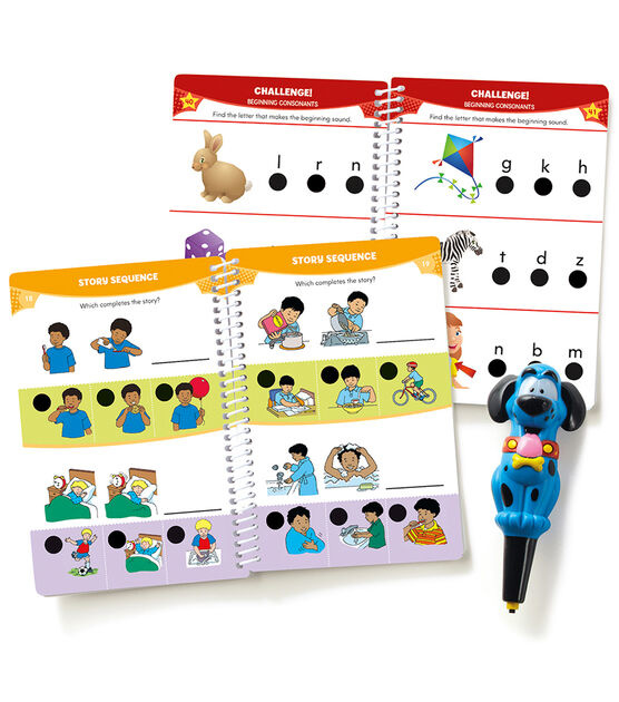 Hot Dots Jr.  Let's Master Reading Kindergarten-2