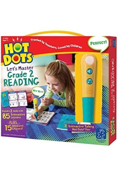 Hot Dots Jr. Let's Master Reading 2