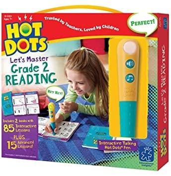 Hot Dots Jr. Let's Master Read 2-1