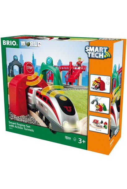 Brio Smart Engine Set w/Action Tunnels