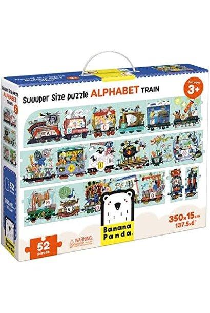 Suuuper Size Alphabet Train