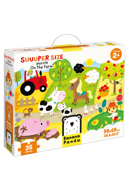 Suuuper Size Puzzle On the Farm