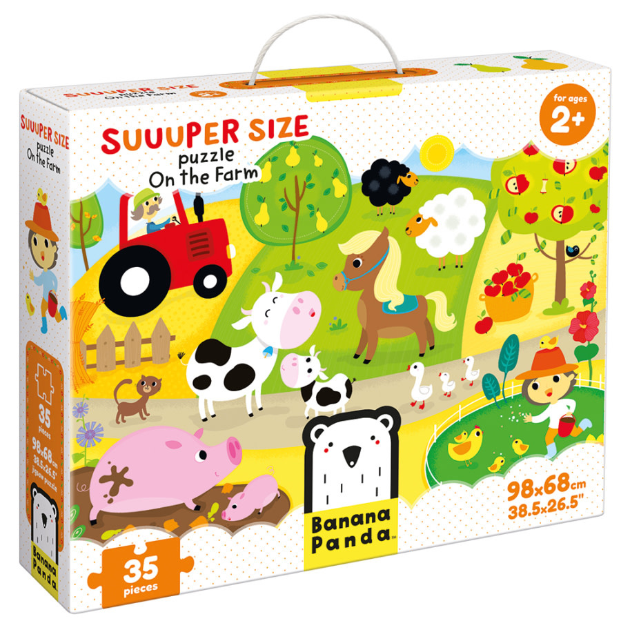 Suuuper Size Puzzle On the Farm-1