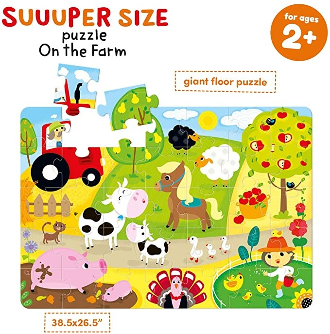 Suuuper Size Puzzle On the Farm-4