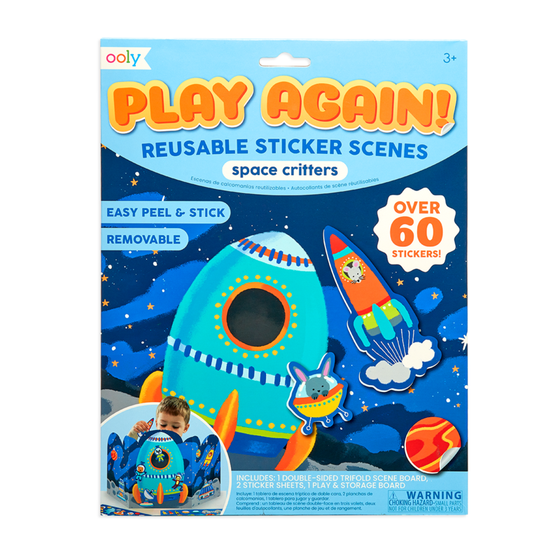 Play Again! Space Critters-1