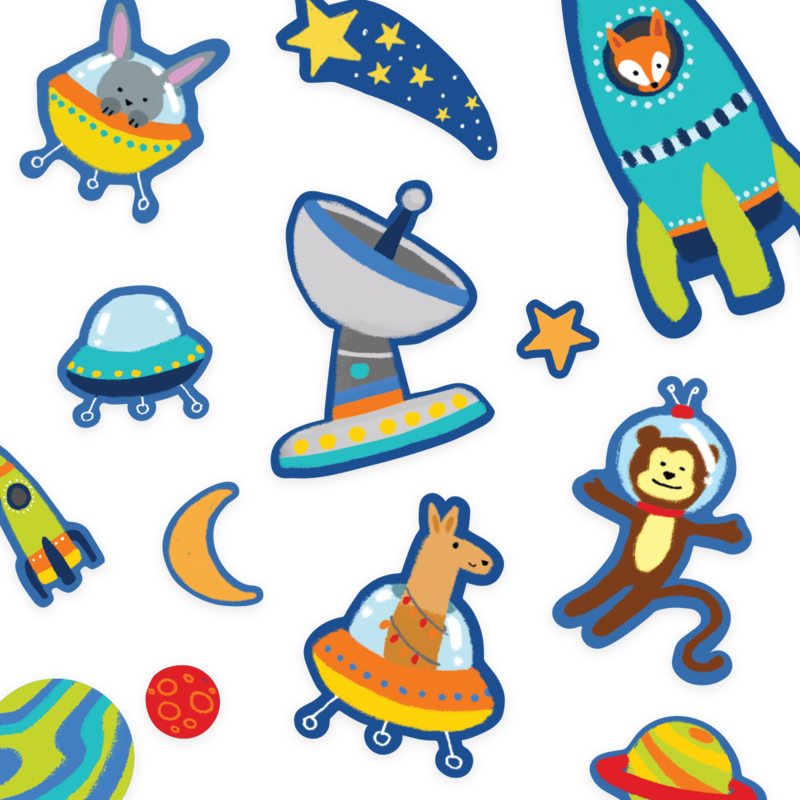 Play Again! Space Critters-2