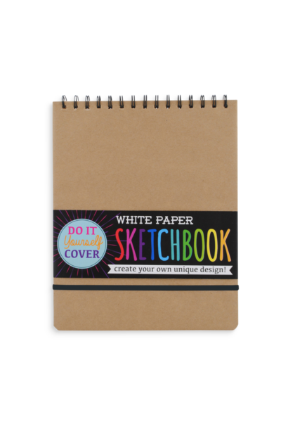 DIY Sketchbook White Lg