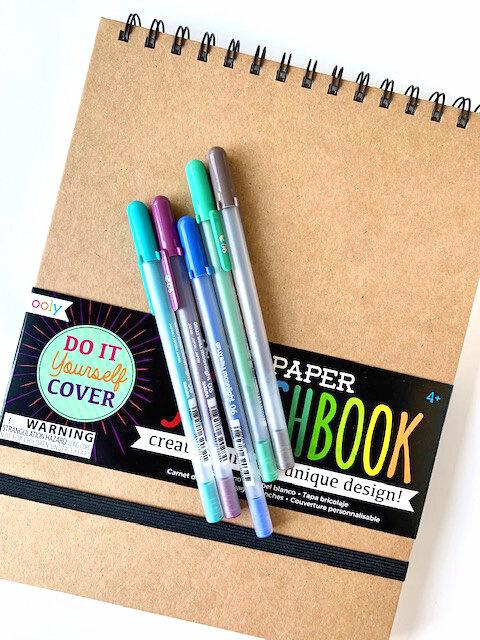 DIY Sketchbook White Lg-2