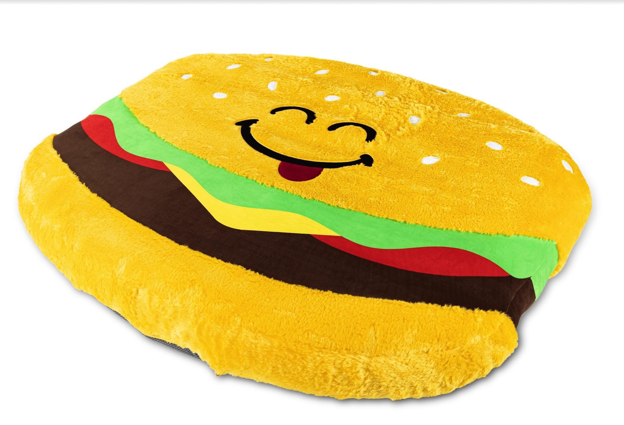 Hamburger Inflatable Floor Floatie-1