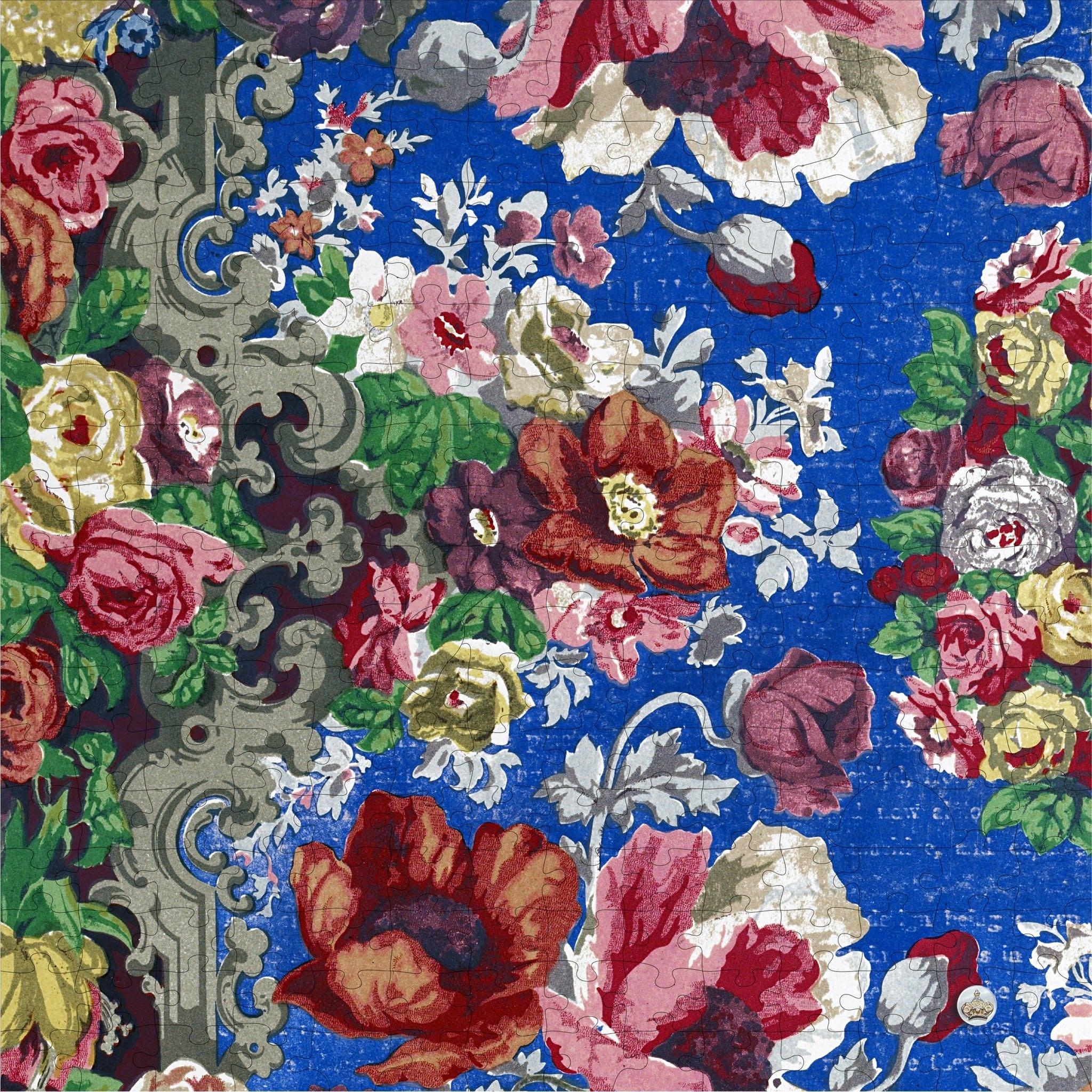 Trove Apothecary Puzzle Floral Table Cover-1