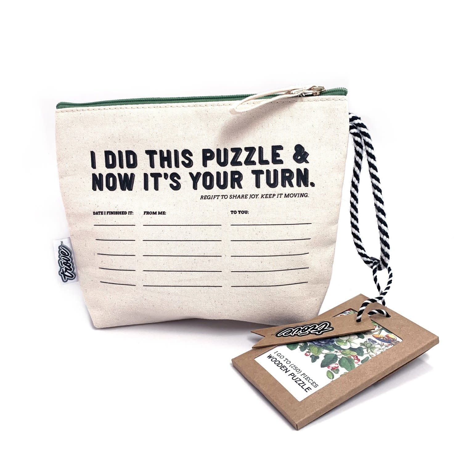 Trove Pass-It-On Pouch Puzzle Vintage Botanic-2