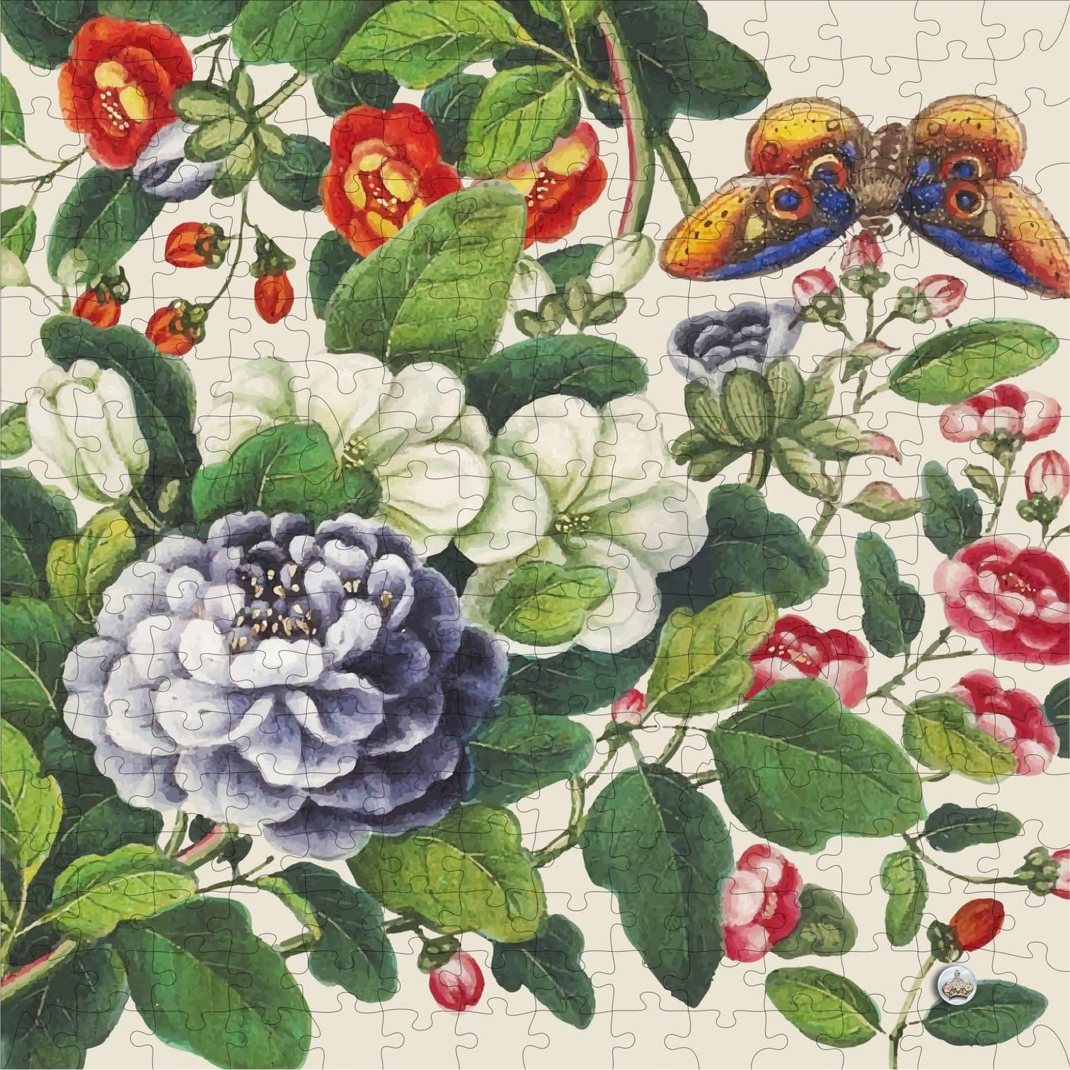 Trove Pass-It-On Pouch Puzzle Vintage Botanic-1