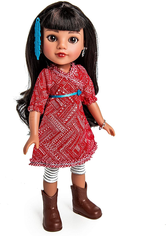 Doll Mosi Native American-1