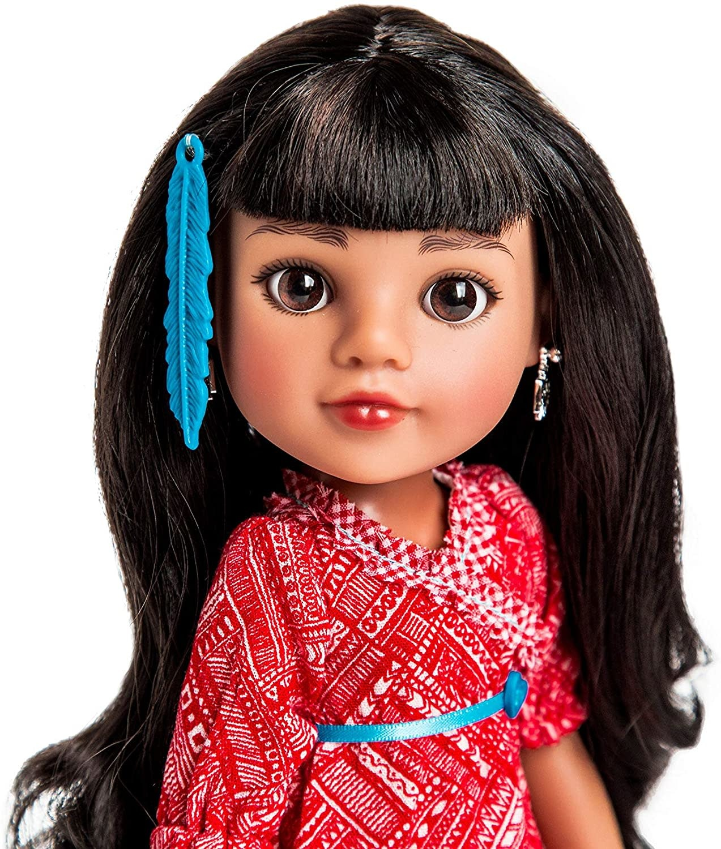Doll Mosi Native American-2