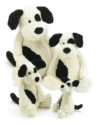 Bashful Puppy Black/Cream Huge-4