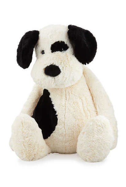 Bashful Puppy Black/Cream Lg