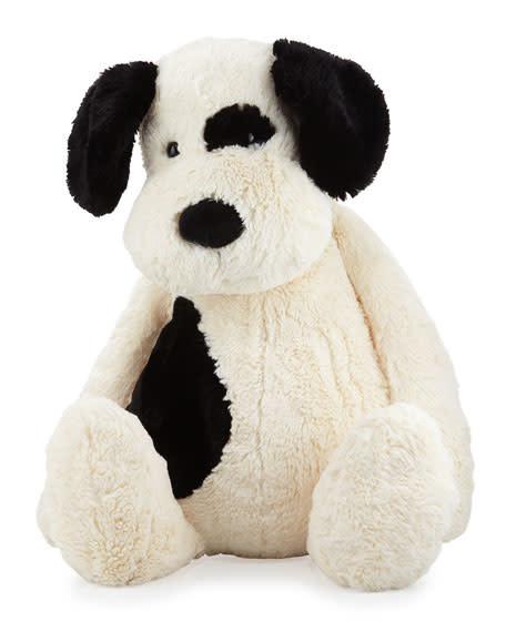 Bashful Puppy Black/Cream Lg-1