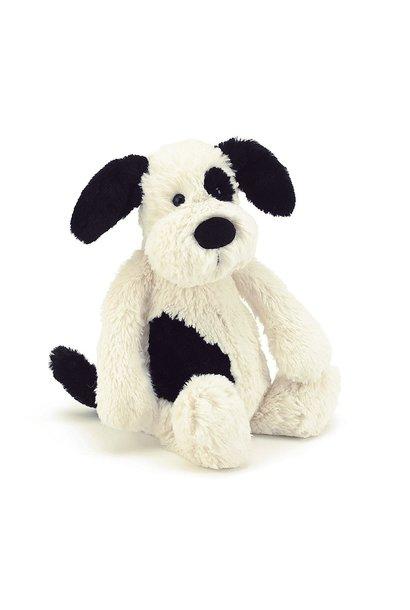 Bashful Puppy Black/Cream Huge JellyCat