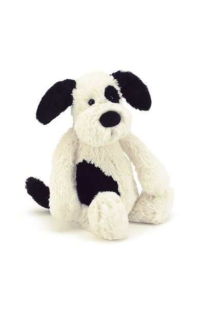Bashful Puppy Black/Cream Huge