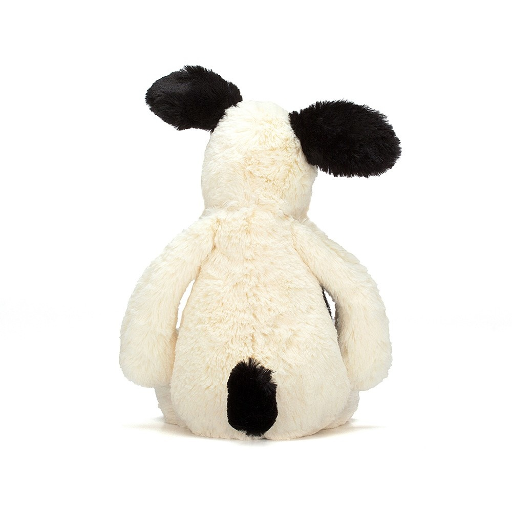 Bashful Puppy Black/Cream Lg-4
