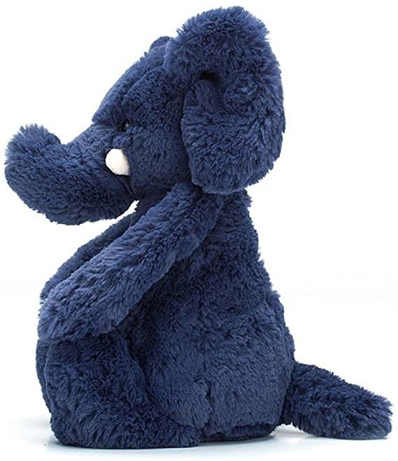 Bashful Blue Elephant Med-2