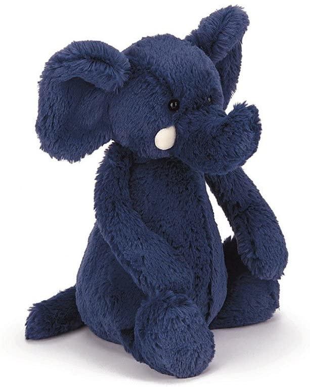 Bashful Blue Elephant Med-1
