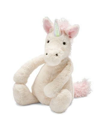 Bashful Unicorn Medium JellyCat-1