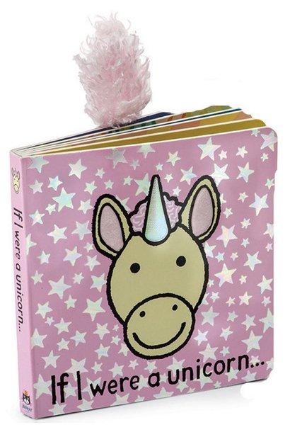 If I Were A Unicorn Board Book JellyCat