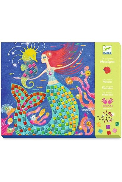 Sticker Mosaic Mermaids Song