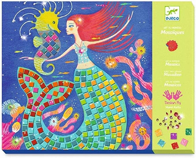 Sticker Mosaic Mermaids Song-1