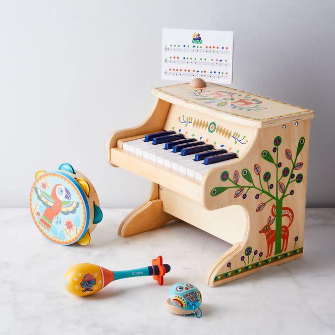 Standing Piano w/Electronic Piece-1