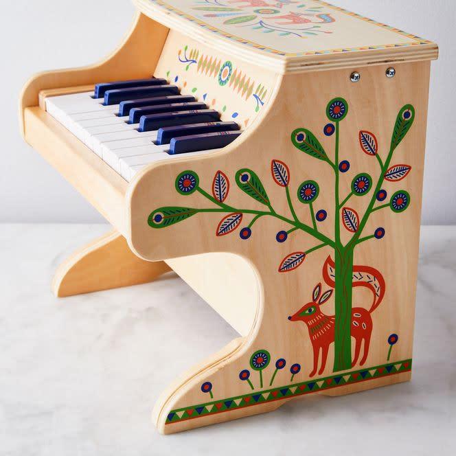 Standing Piano w/Electronic Piece-2