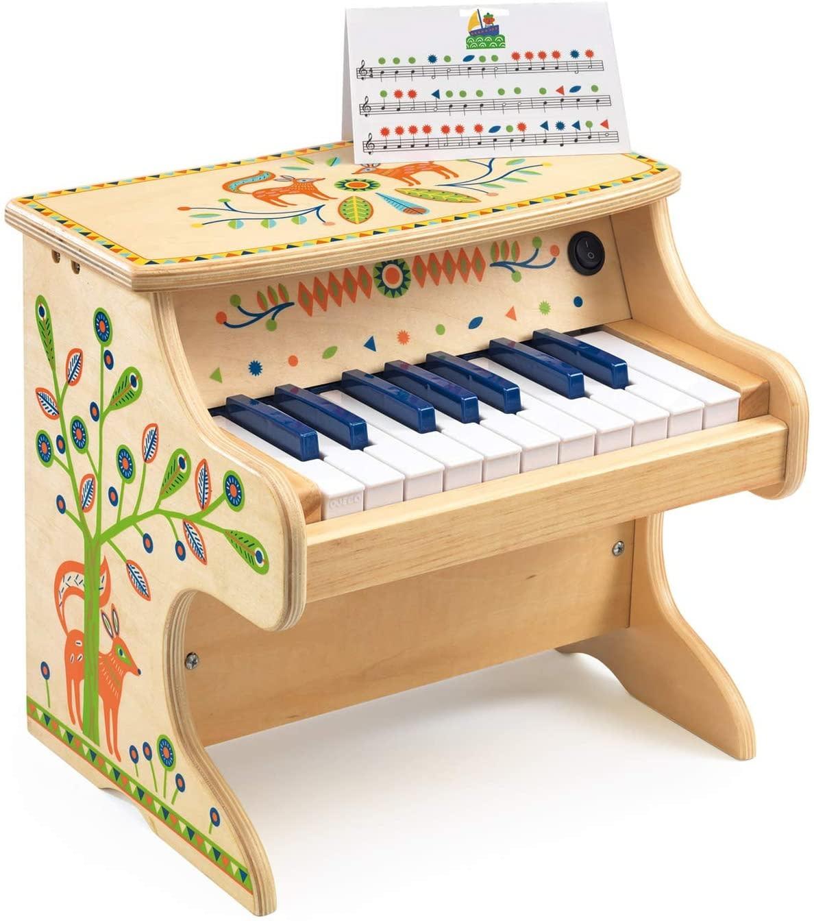 Standing Piano w/Electronic Piece-3