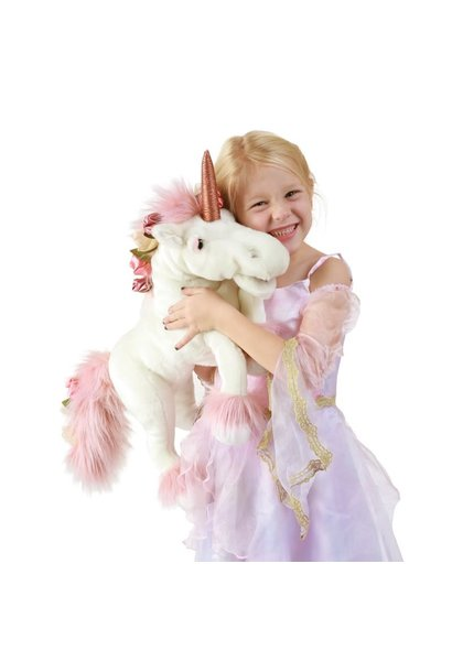Unicorn Puppet with Music Box