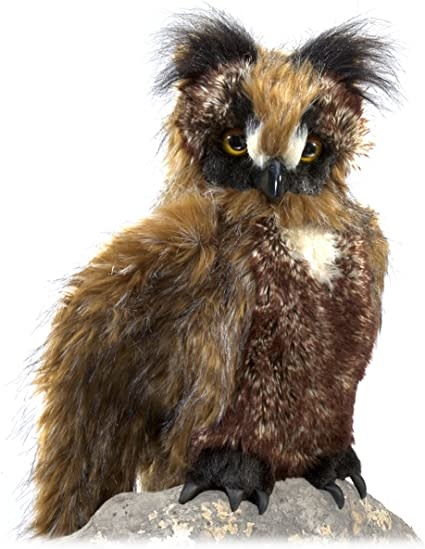 Great Horned Owl Puppet-2