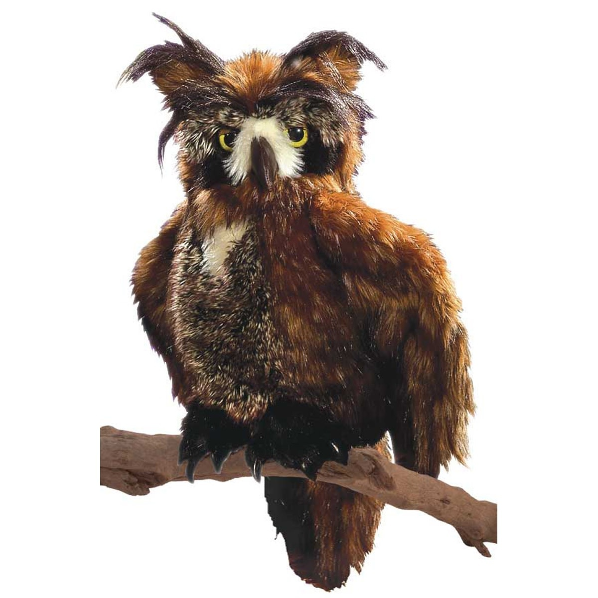 Great Horned Owl Puppet-3