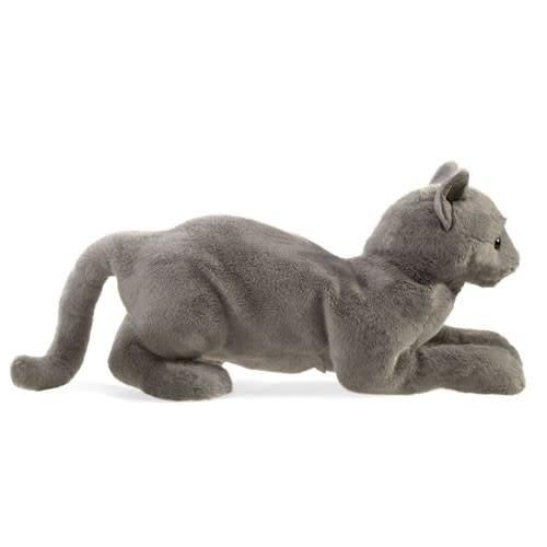 Purring Cat Puppet Folkmanis-3