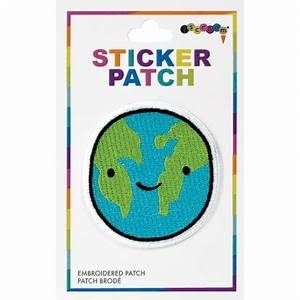 Embroidered Sticker HAPPY PLANET-1