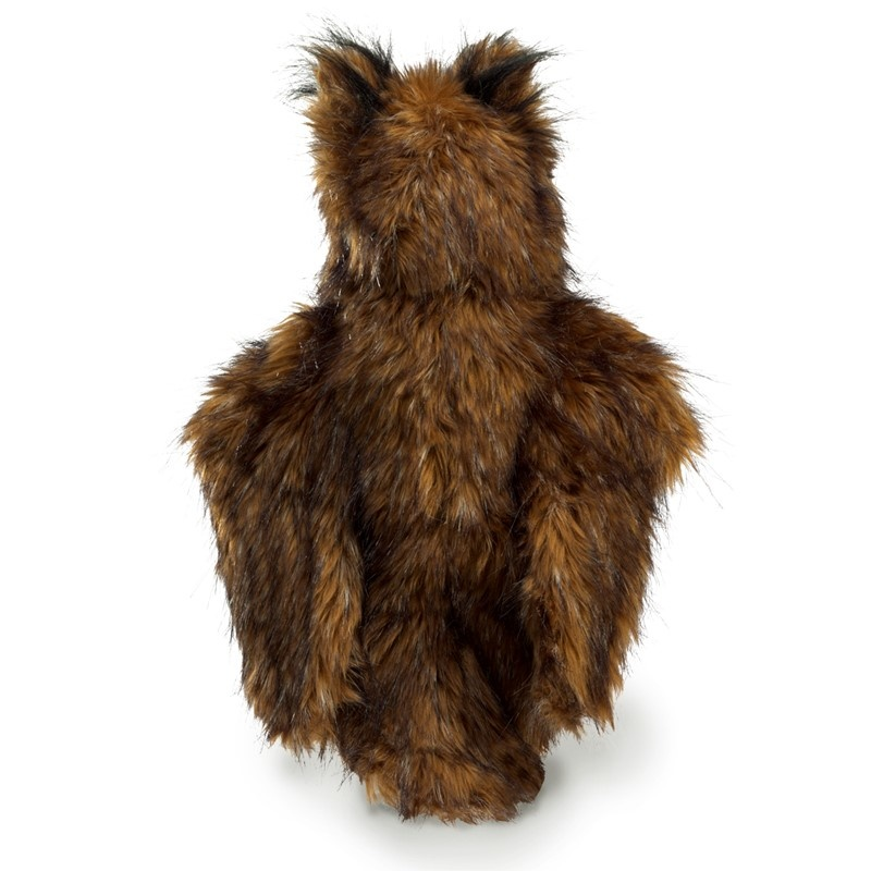 Great Horned Owl Puppet-4