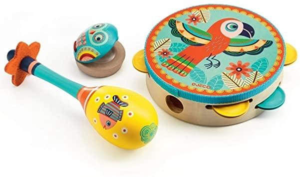 Music Set Tambourine/Maracas/Castanet-2