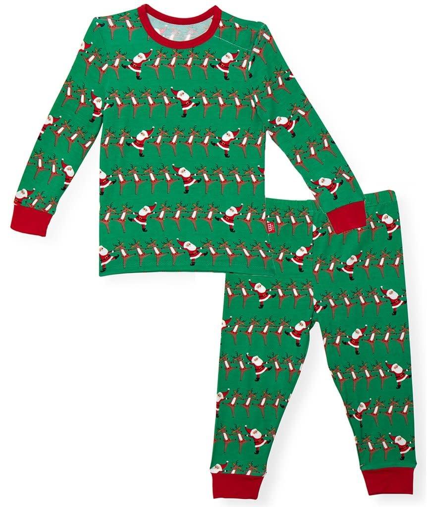 Holly Folly Jolly Modal Magnetic 2pc Pajama Set 2T-1