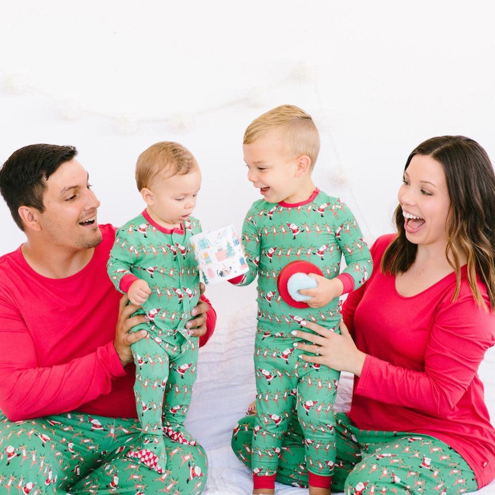 Holly Folly Jolly Modal Magnetic 2pc Pajama Set 2T-2